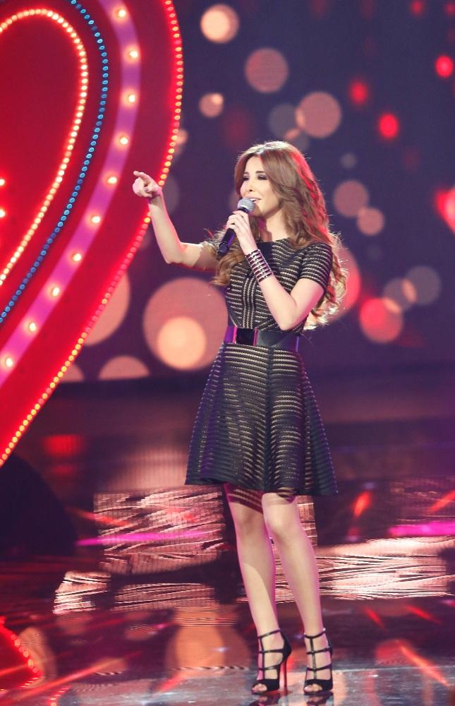 MBC1 & MBC MASR Arab Idol S3 - Live Round -  Results episode - Nancy Ajram (4)