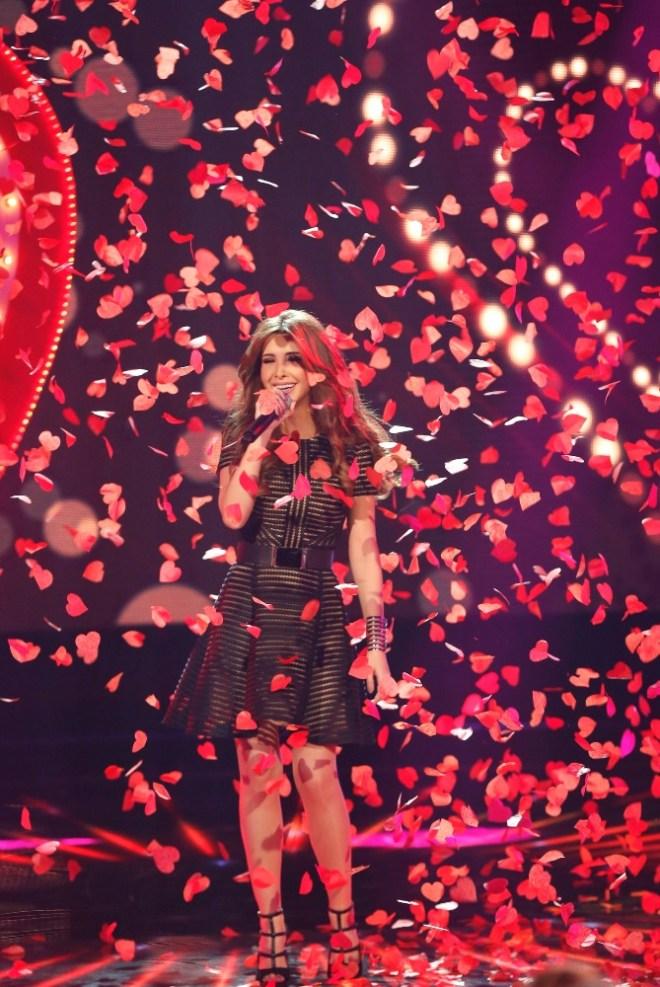 MBC1 & MBC MASR Arab Idol S3 - Live Round -  Results episode - Nancy Ajram (5)