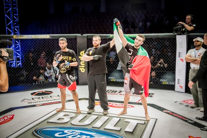 MBC Action- Desert Force Finale Live Event In Abu Dhabi-Winner Mohammad Yahya (800x534)