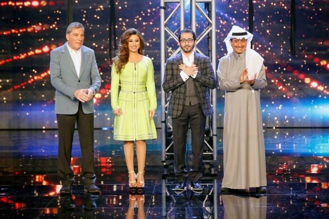 MBC4 & MASR Arabs Got Talent S4- Live 1-Jury Entrance (800x533)