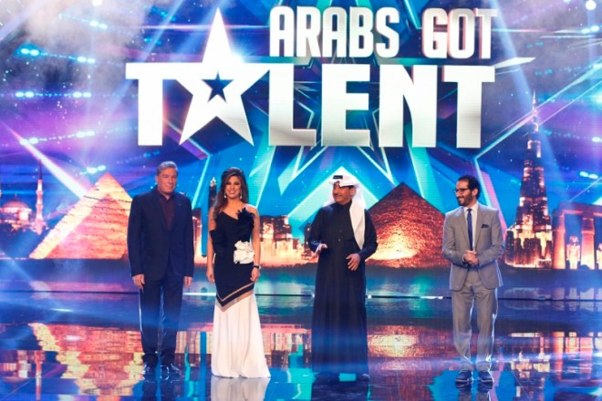MBC4 & MBC MASR Arabs Got Talent S4- Live 2- Jury Entrance  (800x533)