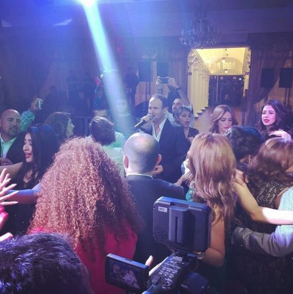 Ayman Zbib (Performing - Wedding - Adib Palace - Lebanon) (2)