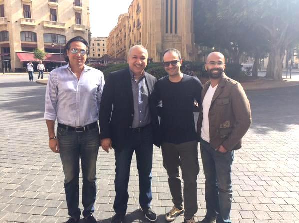 Ayman Zbib & Salem Al Hendi & Firas Khashman & Tony Semaan (1)