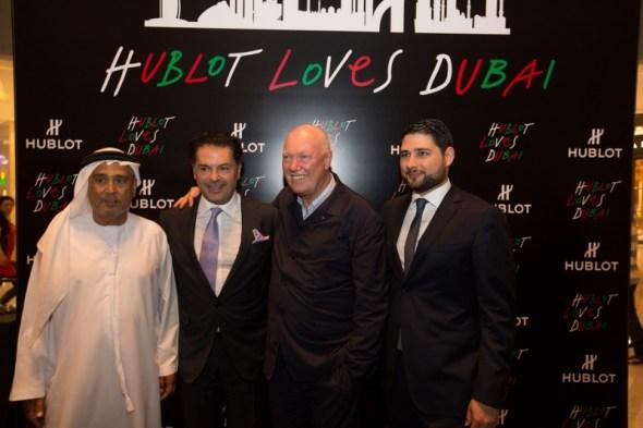 Hublot Boutique The Dubai Mall Grand Opening