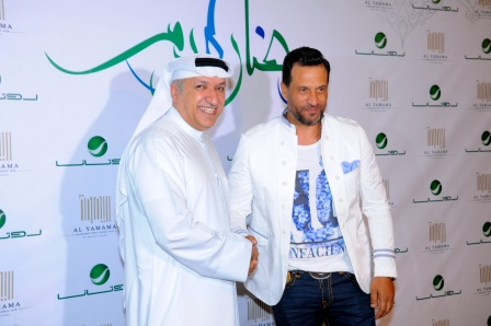 Actor Majed Al Masri & Mr Salem