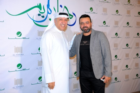 Actor Samer Al Masri & Mr Salem