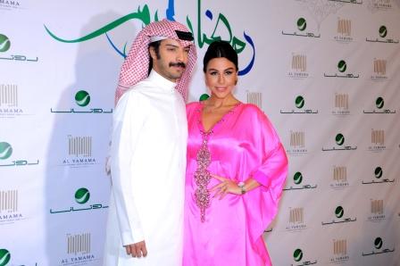 Artist Leila Iskandar & Husband Yaacoub Al Farhan