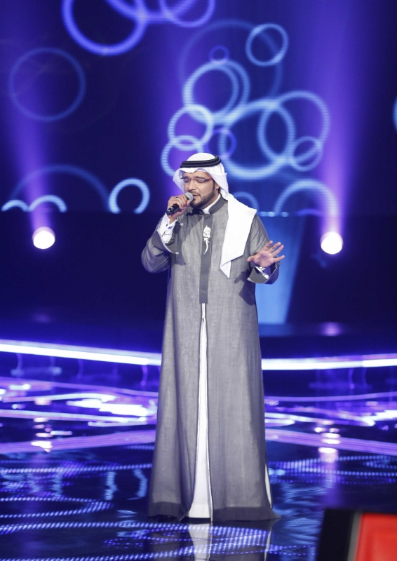MBC1 & MBC MASR the Voice S3 - Blind 2 - Chirine's team - Abdelmajid Ibrahim (566x800)