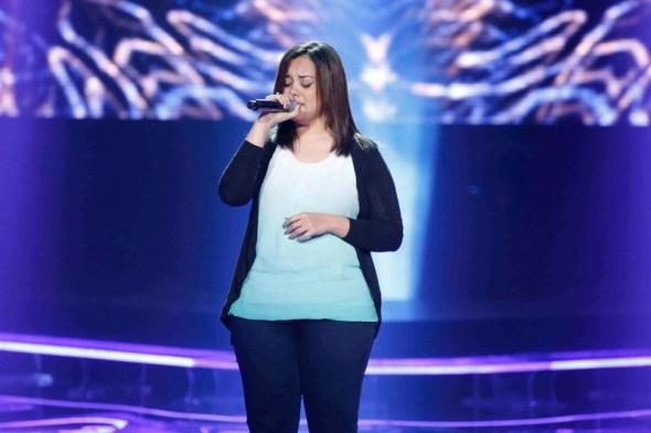 MBC1 & MBC MASR the Voice S3 - Blind 2 - Kadim's team - Hadir Youssef (800x533)