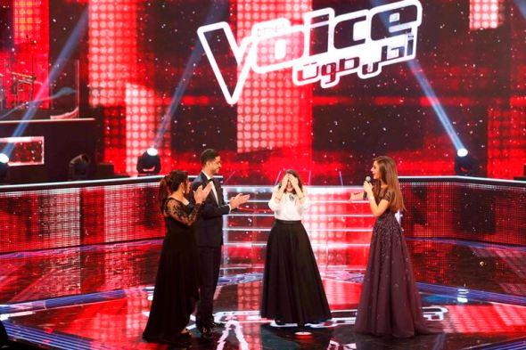 MBC1 & MBC MASR the Voice S3 - Live 1 - team Kadim - results moment