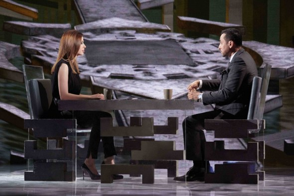 MBC1 Al Mataha - Wafaa El Kilany & Sami Al Jaber - set image