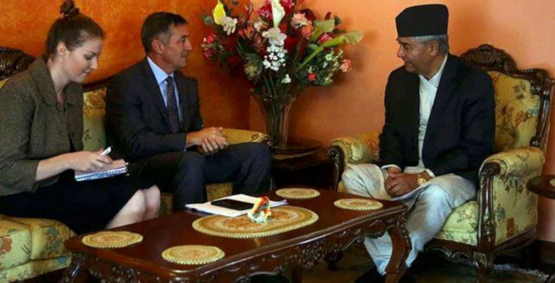 अमेरिकी राजदूत बेरी देउवा र नेपालसगँ राजनीतिक भेटघाटमा सक्रिय