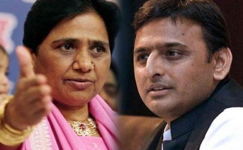 यूपी में सपा बसपा 38-38 सीटों पर लड़ेंगे चुनाव, कांग्रेस को छोड़ी 2 सीटें