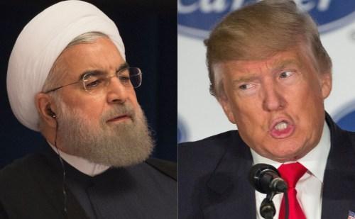 ईरानी राष्ट्रपति रूहानी ने डोनाल्ड ट्रंप को दी कड़ी चेतावनी