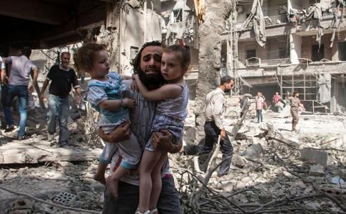 सीरिया पर हुए केमिकल हमले के बाद विनाश शुरू हुई जांच, 75 की हुई थी मौत