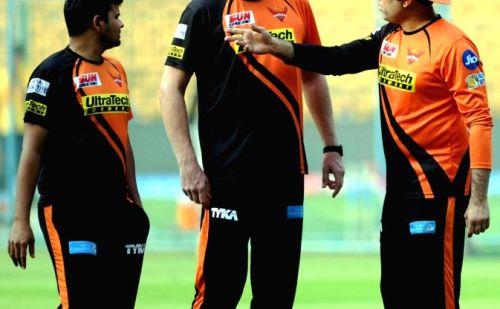 IPL:सनराइजर्स हैदराबाद के मुकाबले से पहले कोच टॉम मूडी का टॉप ऑर्डर बल्लेबाजों गुरू मंत्र