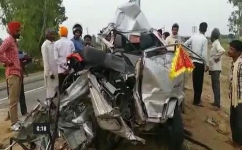 उत्तराखण्ड: सड़क हादसे में 5 श्रदालुओं की मौत