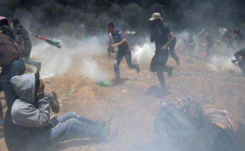 फिलिस्तीनी और इजरायली सैनिकों में संघर्ष, 55 की मौत