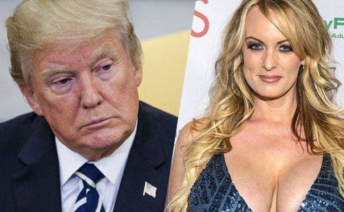 पॉर्न स्टार डेनियल्स का दावा, राष्ट्रपति ट्रंप के साथ थे यौन संबंध