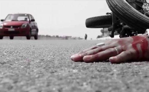 अज्ञात वाहन से टक्कर, 55 वर्षीय सुरक्षा गार्ड की मौत