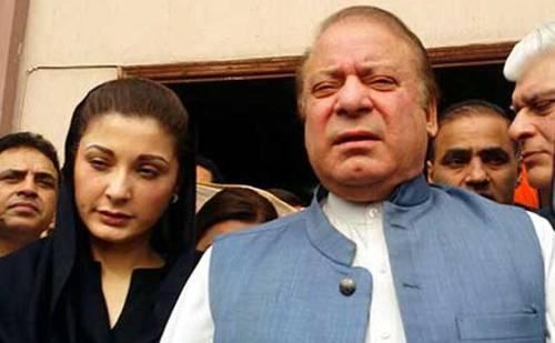 पाकिस्तान के पूर्व पीएम को बड़ा झटका, शरीफ को 10 और बेटी को 7 साल की सजा