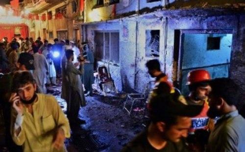 पेशावर में हुआ आत्मघाती बम हमला, ANP नेता समेत 14 लोगों की मौत