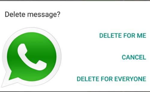 वॉट्सऐप से 'Delete for Everyone' फीचर होगा बंद!, भेजे गए मैसेज नहीं होंगे डिलीट