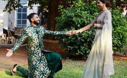 कोंकणी रिवाज से हुई दीपवीर की सगाई , शादी14 नवंबर को कोंकणी रिवाज में और 15 नवंबर को सिंधी रिवाज में..
