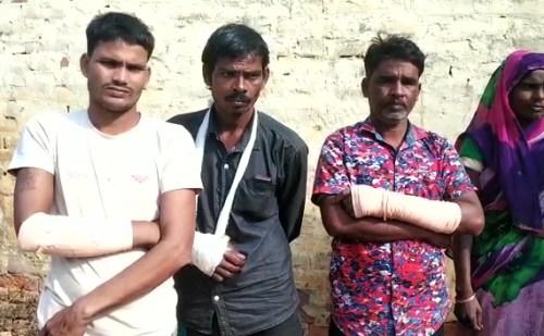 दलित परिवार से मारपीट के चलते 4 के खिलाफ मुकदमा दर्ज