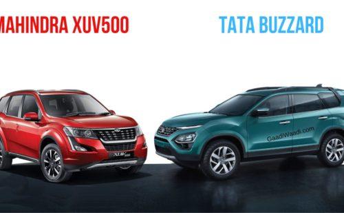 Tata Motors की BUZZARD का भारतीय बाजार में Mahindra XUV500 से होगा मुकाबला