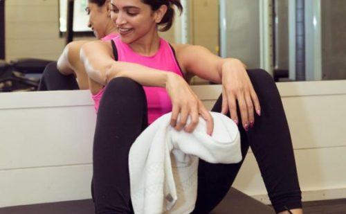 दीपिका पादुकोण ने कान्स में अपनी ग्लैमरस अपीयरेंस से पहले जिम में बहाया पसीना