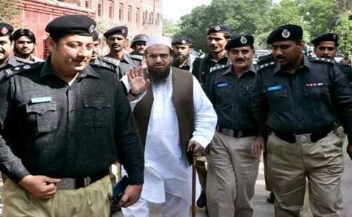 आंतकी हाफिज सईद लाहौर से हुआ गिरफ्तार, न्यायिक रिमांड पर भेजा गया