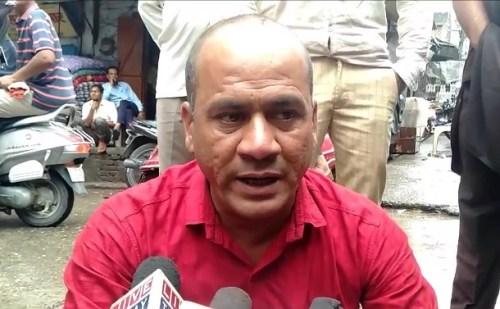 उत्तराखंड: कोटद्वार शहर में अतिक्रमण के खिलाफ पत्रकार का आंदोलन