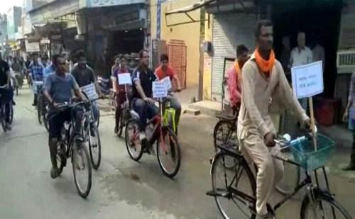HR: नशा मुक्त अभियान के तहत SP फतेहाबाद ने निकाली साईकिल यात्रा