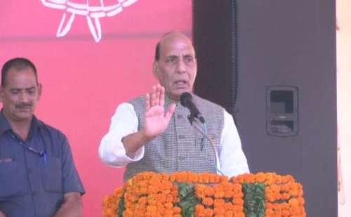 देहरादून- रक्षा मंत्री राजनाथ ने उत्त्तराखण्ड को बताया विद्याधाम, सीएम की खूब तारीफ की