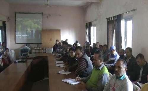 नाहन: प्रधानमंत्री आवास योजना के तहत आवास सप्ताह का हुआ आयोजन