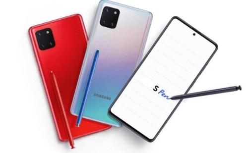 Galaxy Note 10 Lite अगले हफ्ते से प्री आर्डर के लिए होगा उपलब्ध,जानें इसके ये फीचर्स