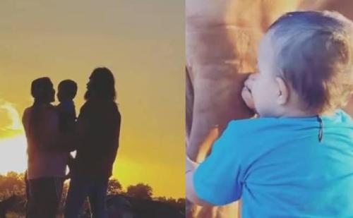 सपना चौधरी ने बेटे के पहले जन्मदिन पर अनाउंस किया नाम, पति वीर साहू संग शेयर किया खास वीडियो