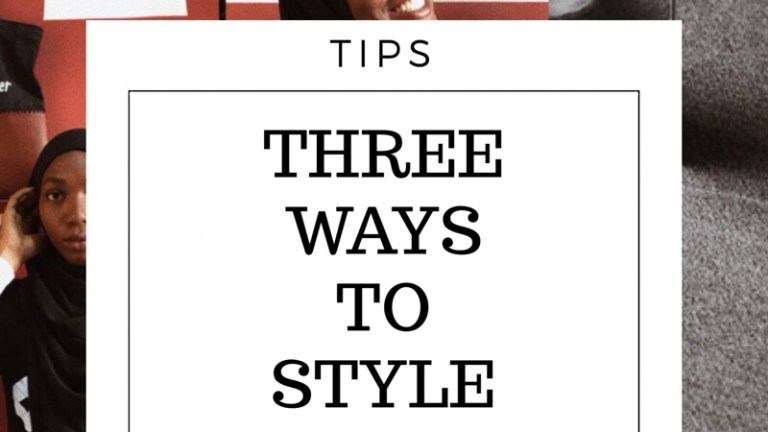 Three Hijab Styles to Wear Effortlessly