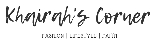 Blog Site Banner khairahscorner