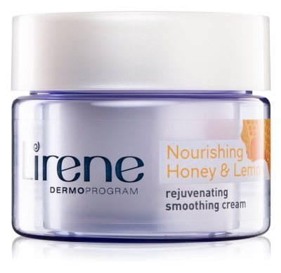 lirene-moisture-nourishment-rejuvenating-and-smoothening-moisturiser-with-honey-and-lemon skincare products review for minimal acne healthy skin khairahscorner