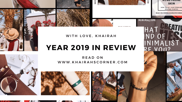 2019 in Review: My Experiences at 19