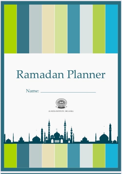 Tools to help plan ramadan specials blogpost Khairahscorner monthly planner