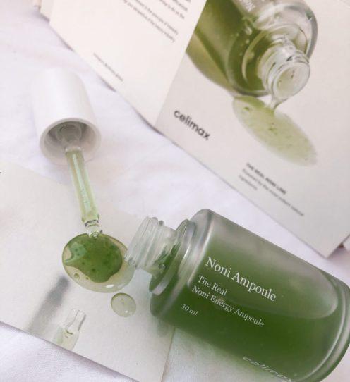 celimax-noni-energy-ampoule-texture-khairahscorner
