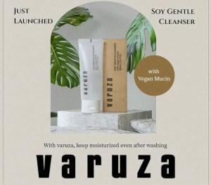 varuza-soy-vegan-mucin-gentle-cleanser-new-skincare-brand-review-khairahscorner