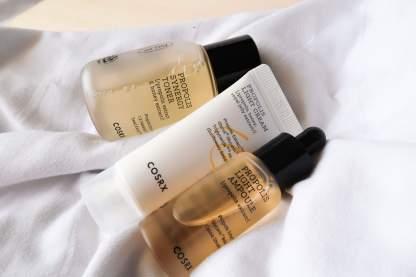 cosrx full fit honey glow trial kit starter skincare kits review khairahscorner