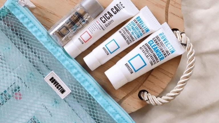 Korean Skincare Starter Kit REVIEW – COSRX + ROVECTIN Trial Kits
