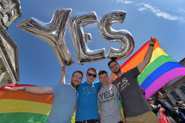 Ireland made homosexuality legal