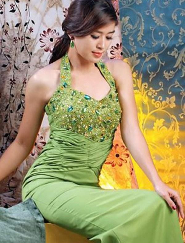 Army blonde myanmar model girl photo free download