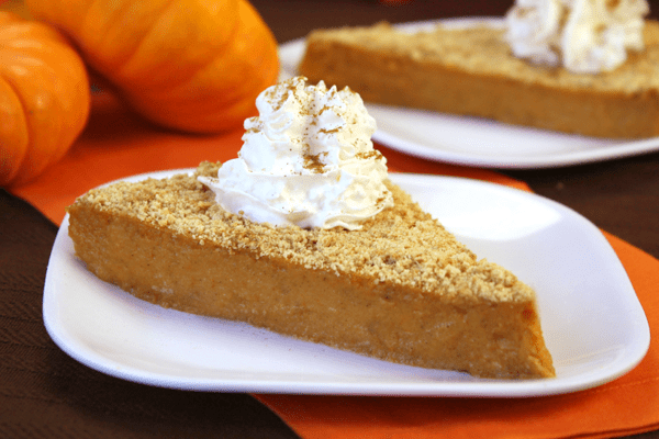 How many calories are in pumpkin pie